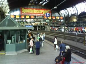 Hvor er strømmen i tyske tog?
