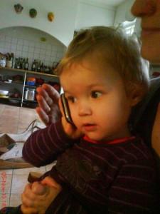 20 % af 5-9 årige har mobiltelefon