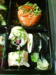 Havbars som sushi