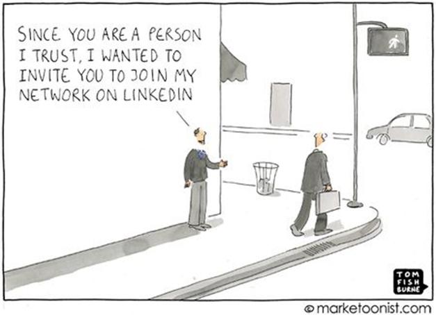 Undgå at spaminvitere på LinkedIn…venligst