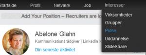 Hvad skal jeg dog opdatere med på LinkedIn?