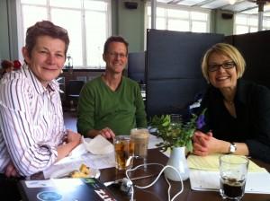 newpub  AG, KP og Rikke Moos