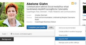 Nemme skabeloner til grafisk opsætning af dit LinkedInCV