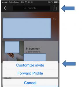 Nu kan du endelig invitere pænt på LinkedIn med app-versionerne