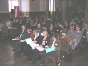 Fyldt Fællessal på Christiansborg